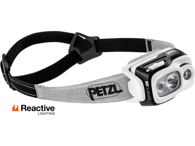 Petzl Swift RL Linterna frontal, black